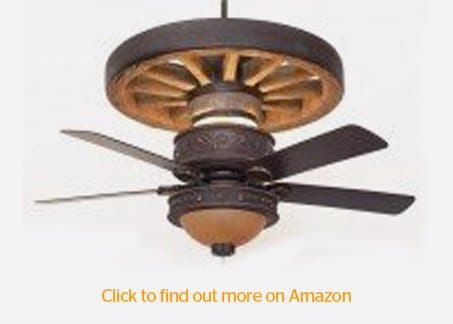 Western-star-wagon wheel ceiling-fan