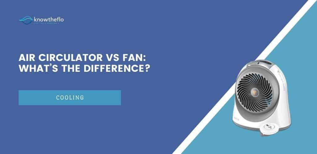 Air Circulator vs Fan – What's the difference