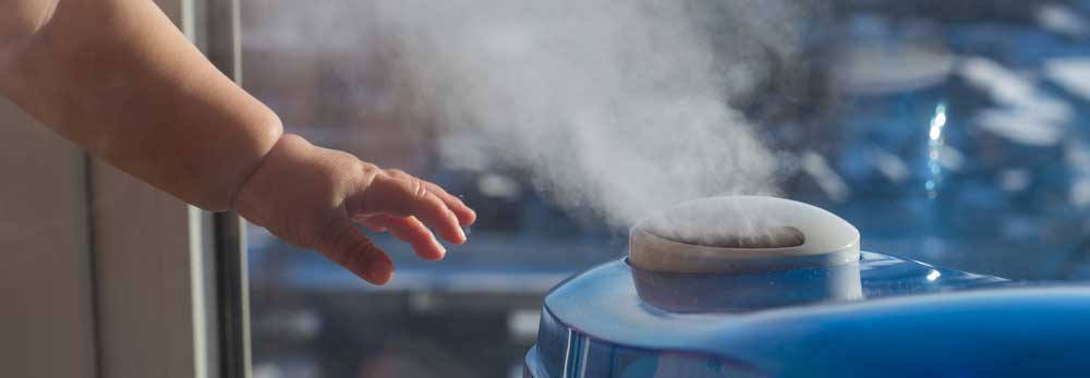 does a cool mist humidifier help with coughing?