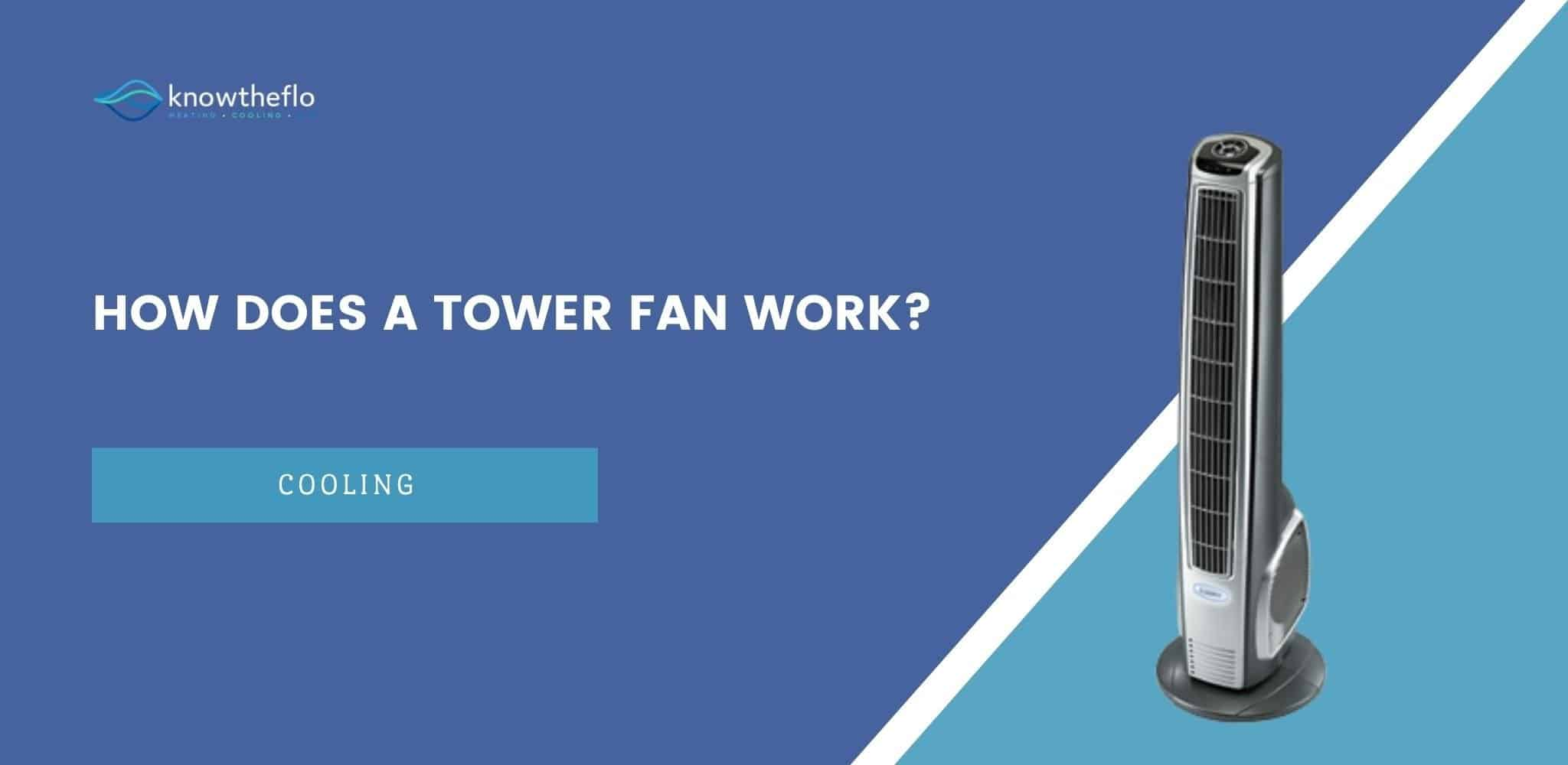 How Does A Tower Fan Work