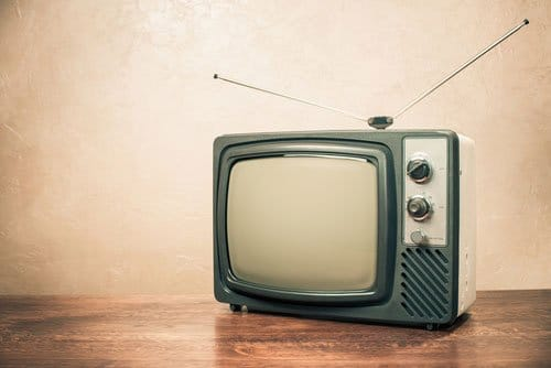 Energy Saving tips Old TV