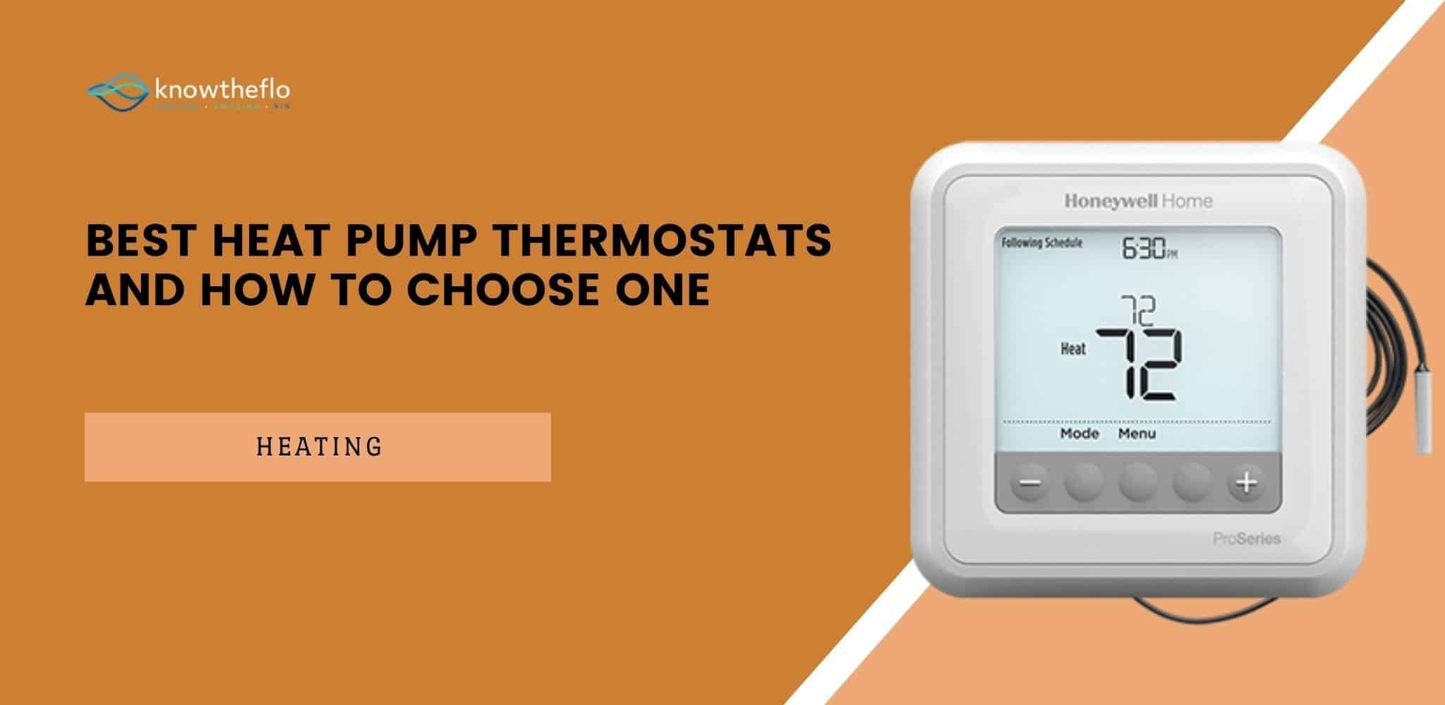 Best Heat Pump Thermostats and How to Choose One