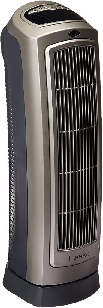 Lasko 755320 23 Inch Ceramic Tower Space Heater with Remote Control
