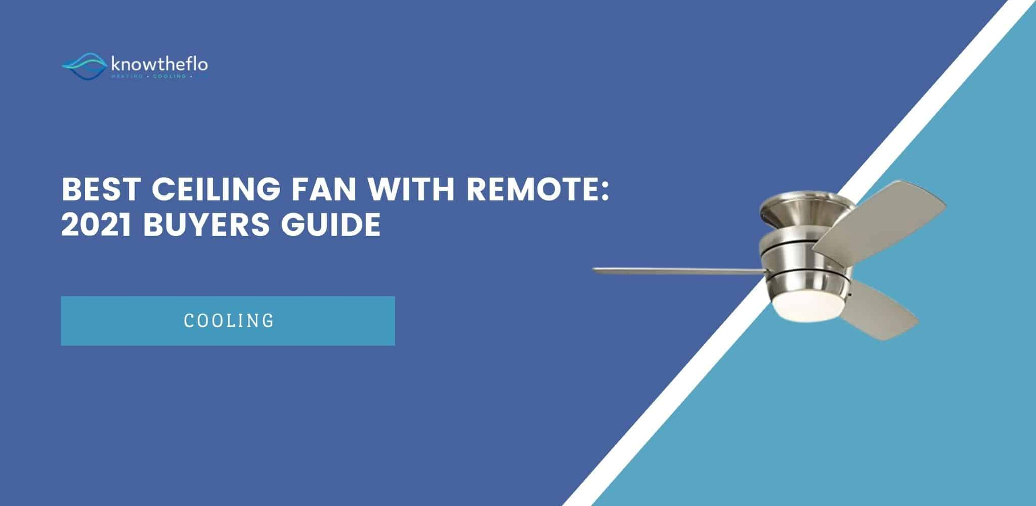 ceiling fan with remote