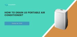 how to drain lg portable air conditioner